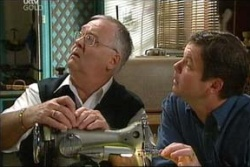 Harold Bishop, David Bishop in Neighbours Episode 4558