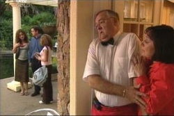 Liljana Bishop, David Bishop, Serena Bishop, Harold Bishop, Svetlanka Ristic in Neighbours Episode 4558