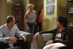 Steph Scully, Jack Scully, Max Hoyland in Neighbours Episode 4559
