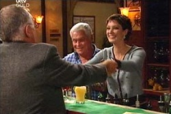 Harold Bishop, Lou Carpenter, Nina Tucker in Neighbours Episode 4564