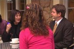 Svetlanka Ristic, David Bishop, Liljana Bishop in Neighbours Episode 4564