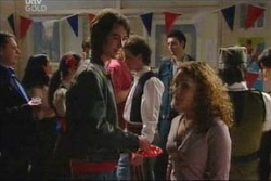 Serena Bishop, Luka Dokic in Neighbours Episode 4567