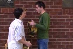 Stingray Timmins, Boyd Hoyland, Travis Dean in Neighbours Episode 4568