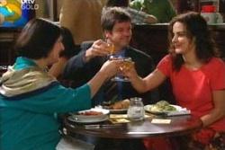 Svetlanka Ristic, David Bishop, Liljana Bishop in Neighbours Episode 4568