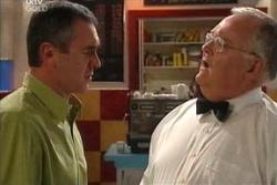 Karl Kennedy, Harold Bishop in Neighbours Episode 4572