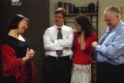 Svetlanka Ristic, David Bishop, Liljana Bishop, Harold Bishop in Neighbours Episode 4572
