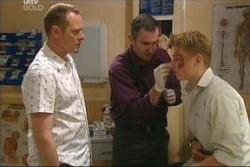 Max Hoyland, Karl Kennedy, Boyd Hoyland in Neighbours Episode 4575