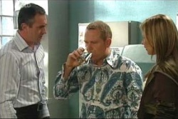 Steph Scully, Max Hoyland, Karl Kennedy in Neighbours Episode 4577