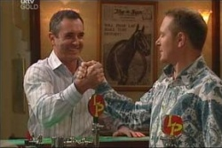 Karl Kennedy, Max Hoyland in Neighbours Episode 4577