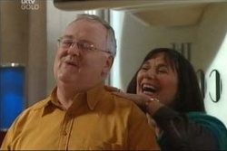 Harold Bishop, Svetlanka Ristic in Neighbours Episode 4579