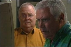 Harold Bishop, Lou Carpenter in Neighbours Episode 4579