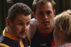 Toadie Rebecchi, Stuart Parker, Sindi Watts in Neighbours Episode 4581