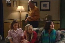 Serena Bishop, Sky Mangel, Harold Bishop, Svetlanka Ristic in Neighbours Episode 4581