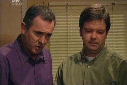 Karl Kennedy, David Bishop in Neighbours Episode 4581