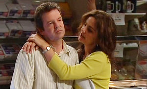 David Bishop, Liljana Bishop in Neighbours Episode 4803