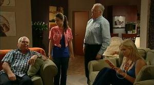Lou Carpenter, Louise Carpenter (Lolly), Harold Bishop, Sky Mangel in Neighbours Episode 5184