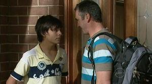 Zeke Kinski, Karl Kennedy in Neighbours Episode 5184