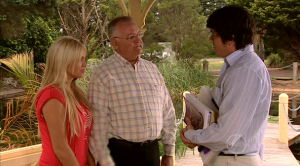 Sky Mangel, Harold Bishop, Terrence Chesterton in Neighbours Episode 5185