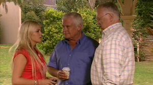 Harold Bishop, Lou Carpenter, Sky Mangel in Neighbours Episode 5185