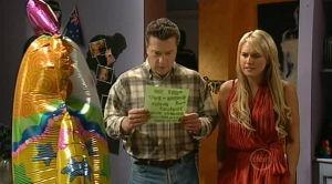 Allan Steiger, Pepper Steiger in Neighbours Episode 5186