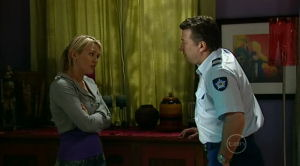 Pepper Steiger, Allan Steiger in Neighbours Episode 5187