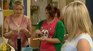 Janelle Timmins, Bree Timmins, Janae Timmins in Neighbours Episode 5190