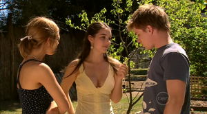 Rachel Kinski, Louise Carpenter (Lolly), Ringo Brown in Neighbours Episode 5190