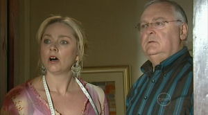 Janelle Timmins, Harold Bishop in Neighbours Episode 5190