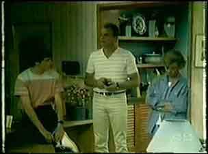 Scott Robinson, Jim Robinson, Helen Daniels in Neighbours Episode 0019