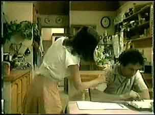 Max Ramsay, Maria Ramsay in Neighbours Episode 0019