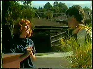 Carol Brown, Paul Robinson in Neighbours Episode 0021