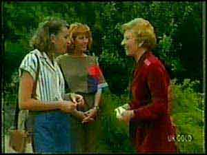 Carol Brown, Julie Robinson, Eileen Clarke in Neighbours Episode 0021
