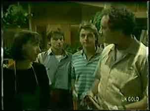 Maria Ramsay, Danny Ramsay, Shane Ramsay, Max Ramsay in Neighbours Episode 0022