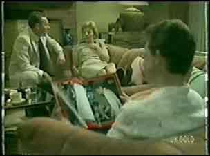 Dr Murray, Eileen Clarke, Des Clarke in Neighbours Episode 0023