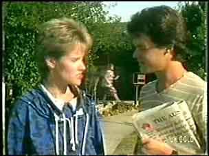 Daphne Clarke, Paul Robinson in Neighbours Episode 0024