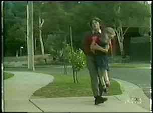 Danny Ramsay, Josie Brown in Neighbours Episode 0025