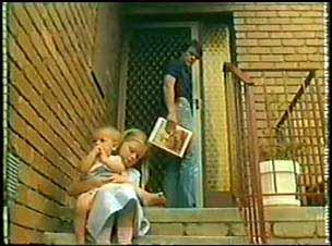 Paul Robinson, Tommy Brown, Josie Brown in Neighbours Episode 0025