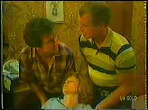Max Ramsay, Carol Brown, Jim Robinson in Neighbours Episode 0026