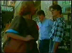 Carol Brown, Scott Robinson, Danny Ramsay in Neighbours Episode 0026
