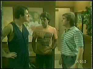 Max Ramsay, Paul Robinson, Shane Ramsay in Neighbours Episode 0030