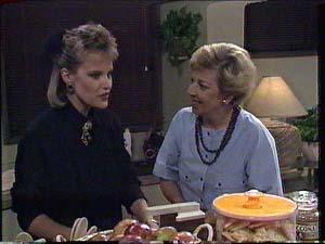 Daphne Clarke, Eileen Clarke in Neighbours Episode 0426