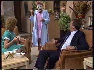 Madge Bishop, Charlene Mitchell, Harold Bishop in Neighbours Episode 0426