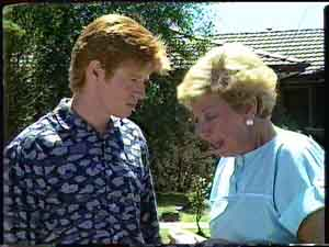 Clive Gibbons, Eileen Clarke in Neighbours Episode 0427