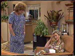 Madge Bishop, Helen Daniels in Neighbours Episode 0428