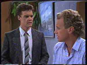 Paul Robinson, Jim Robinson in Neighbours Episode 0428