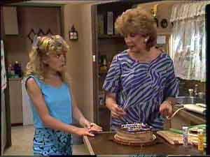 Madge Bishop, Charlene Mitchell in Neighbours Episode 0428