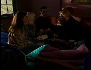 Marco Alessi, Wendy Marsh, Beth Brennan, Brad Willis in Neighbours Episode 1751