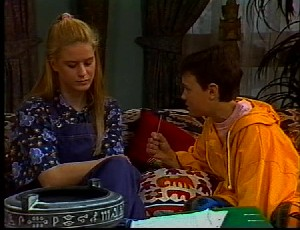 Phoebe Bright, Toby Mangel in Neighbours Episode 1751