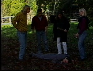 Brad Willis, Marco Alessi, Beth Brennan, Wendy Marsh, Detective Barnes in Neighbours Episode 1751