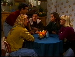 Brad Willis, Marco Alessi, Rick Alessi, Beth Brennan, Wendy Marsh in Neighbours Episode 1751